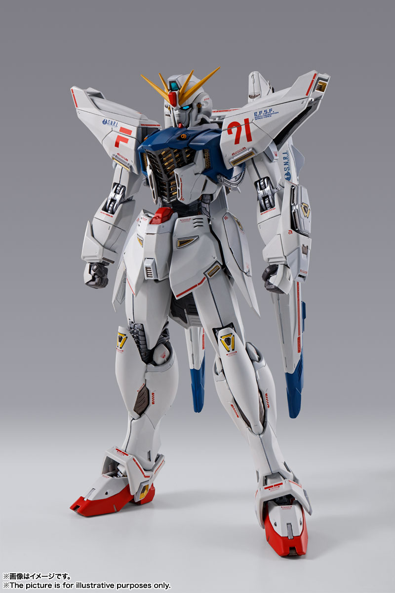 【現貨】BANDAI 代理版 METAL BUILD 鋼彈F91 CHRONICLE WHITE Ver.